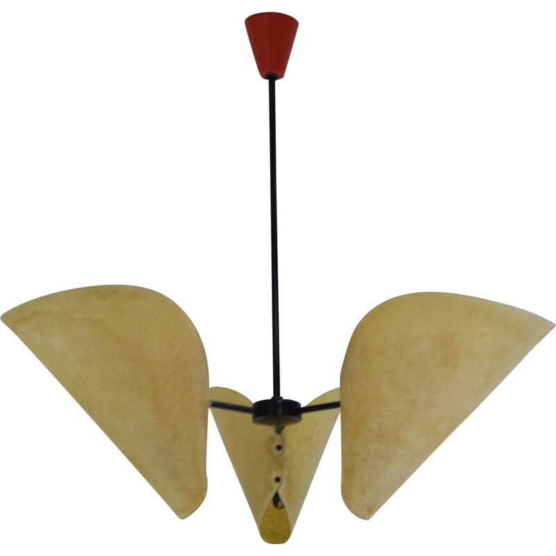 Mid-century Chandelier by Josef  Hurka for Napako,1960s