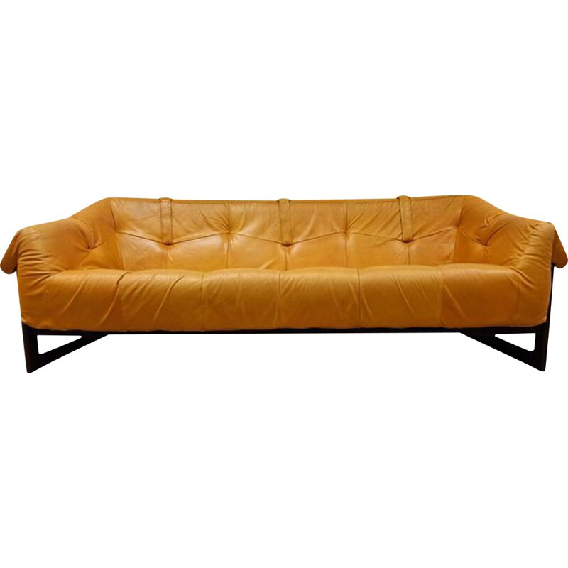 Vintage MP-091 3-seater sofa by Perceval Lafer for Lafer S.A. Brazilian 1960