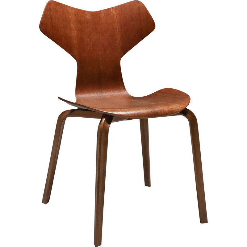 Arne Jacobsen's Grand Prix Chair Fritz Hansen - 1960's