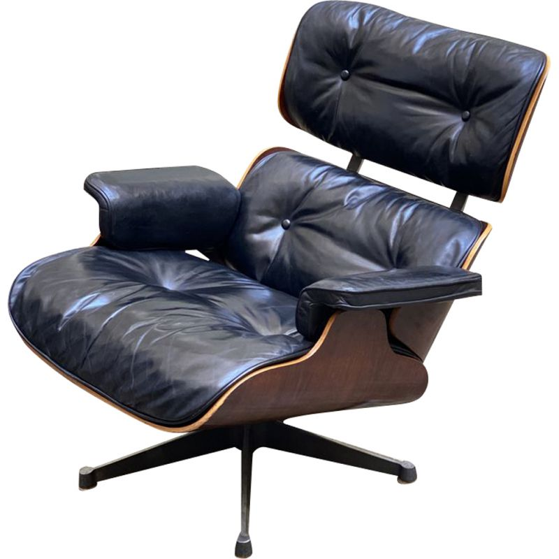 Vintage Charles and Ray Eames lounge chair 1979