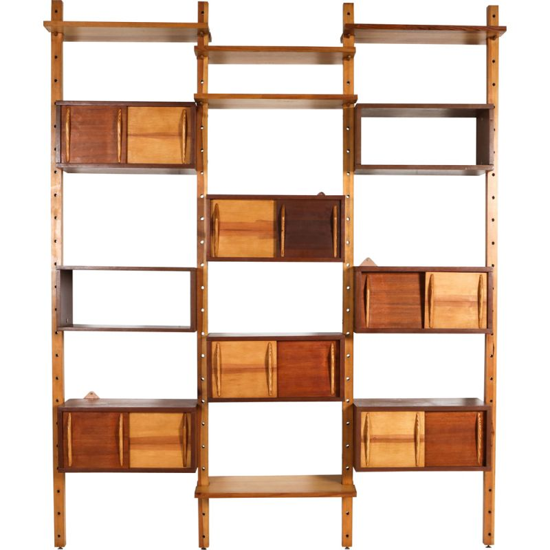 Mid-century  shelve unit of Perriand and Le Corbusier 1970s