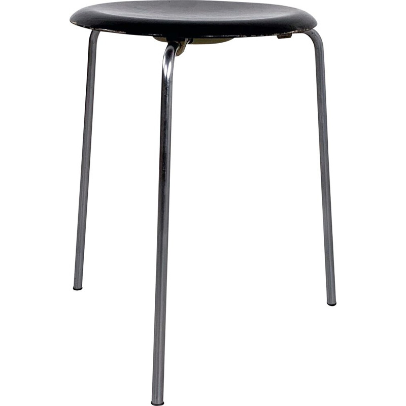 Vintage 'Dot' Stool by Arne Jacobsen for Fritz Hansen, 1960s