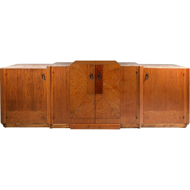 Vintage High-End Credenza Art Deco 1930s
