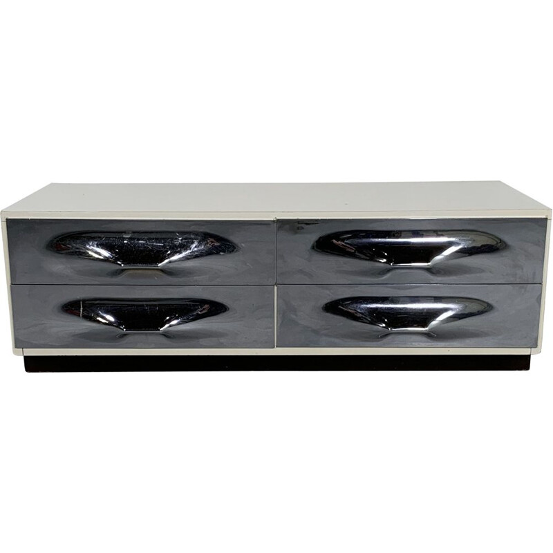 Vintage DF 2000 TV Unit by Raymond Loewy for Doubinsky Frères, 1960s