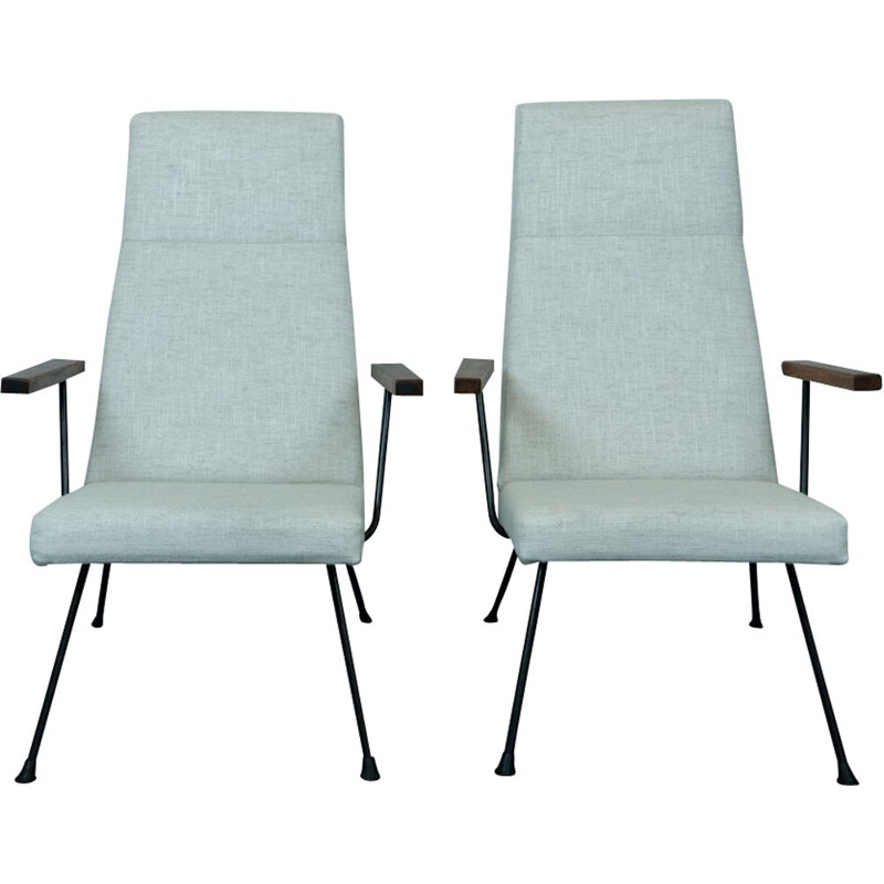 Pair of vintage Lounge Chairs by Andre Cordemeyer for Gispen 1960