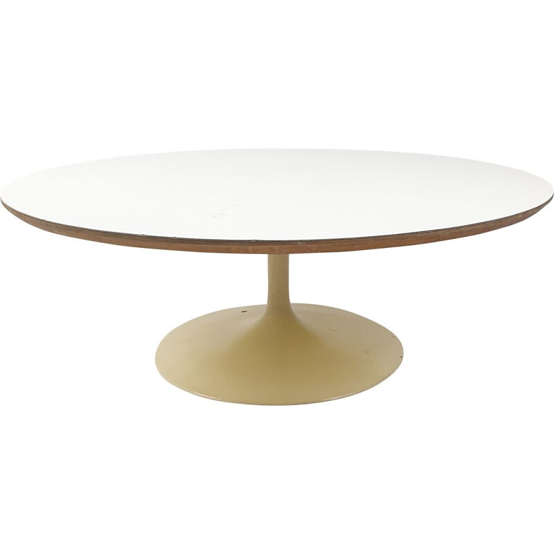 Vintage Round Coffee Table by Kho Liang Ie for Artifort, 1960s