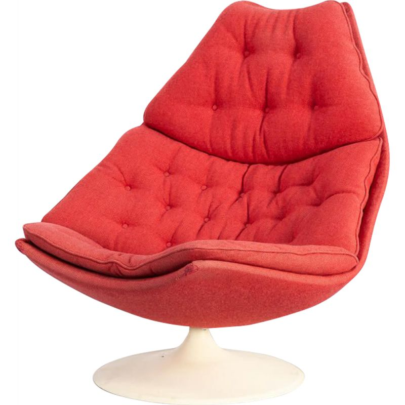 Vintage  F588 lounge fauteuil for Artifort Geoffrey Harcourt 1960s