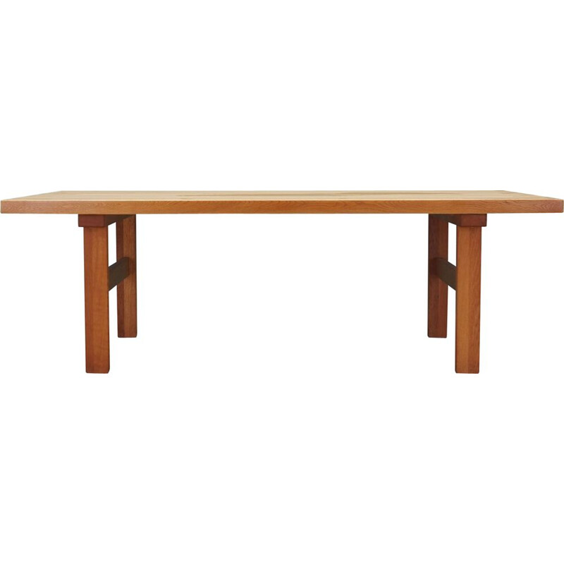 Vintage Ash coffee table, Danish 1980s