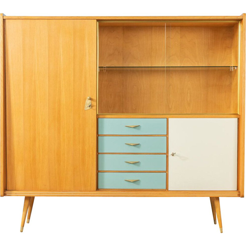 Vintage highboard Germany 1950s