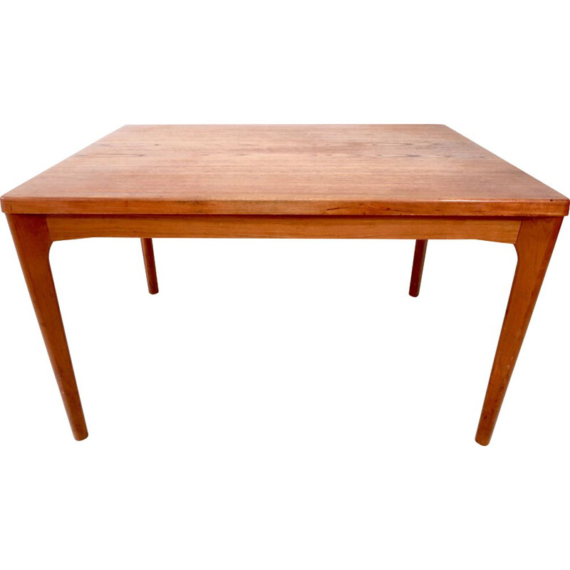 Vintage Teak Dining Table by Henning Kjaernulf for Veile Stole, 1960s