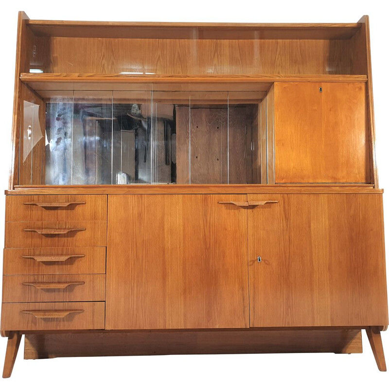 Vintage highboard for Tatra, Czechoslovakia 1970