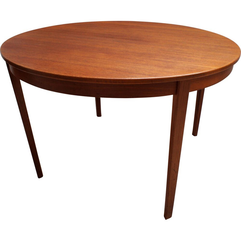 Vintage teak table, Bertil Fridhagen scandinavian 1961