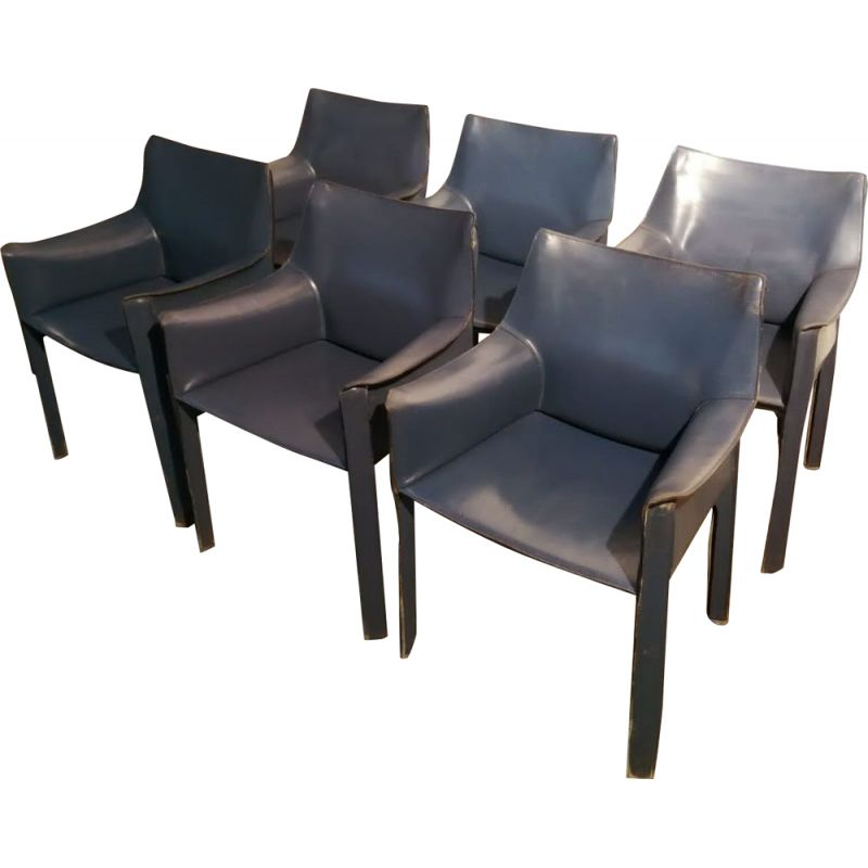 Vintage armchair CAB 413 by Mario Bellini by Cassina