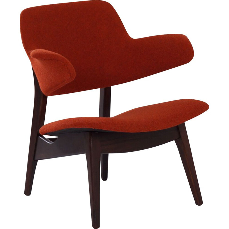 Vintage armchair by Louis van Teeffelen Wing for Webe, 1960
