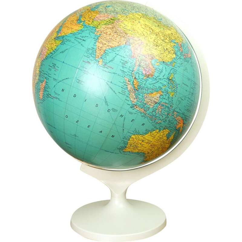 Vintage Globe from JRO Verlag, Germany, 1970s