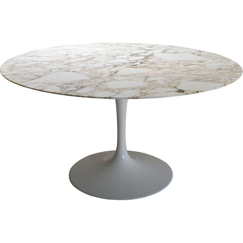 Vintage Knoll marble table, Eero Saarinen 1970