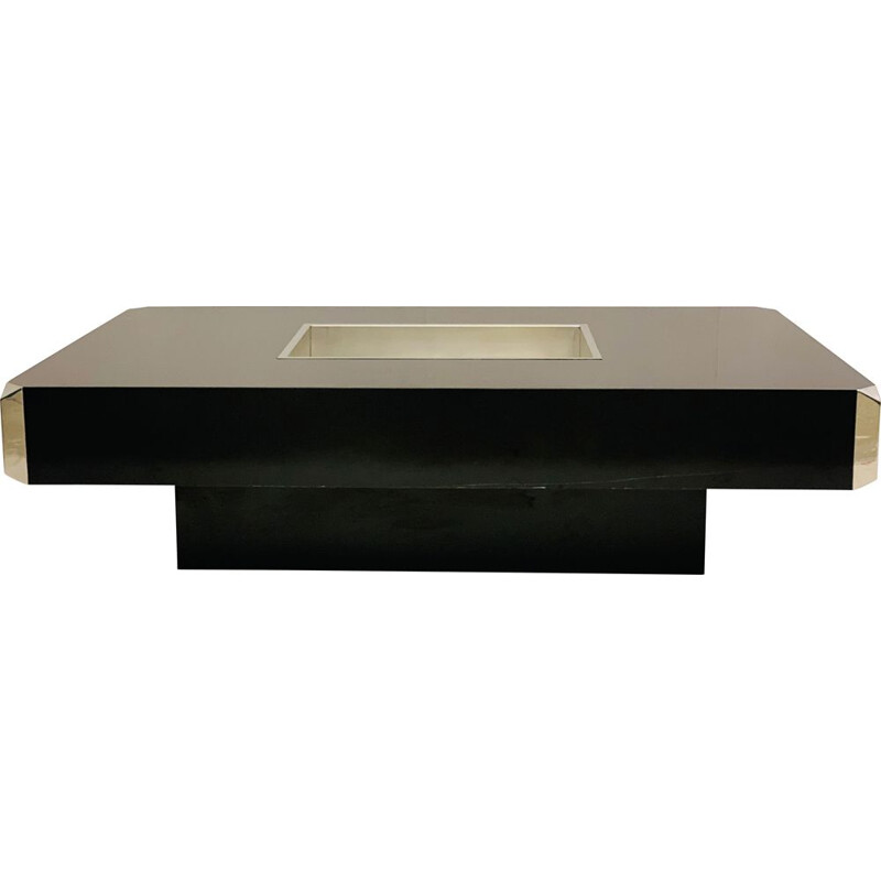 Vintage Mario Sabot Coffee Table Italy 1970