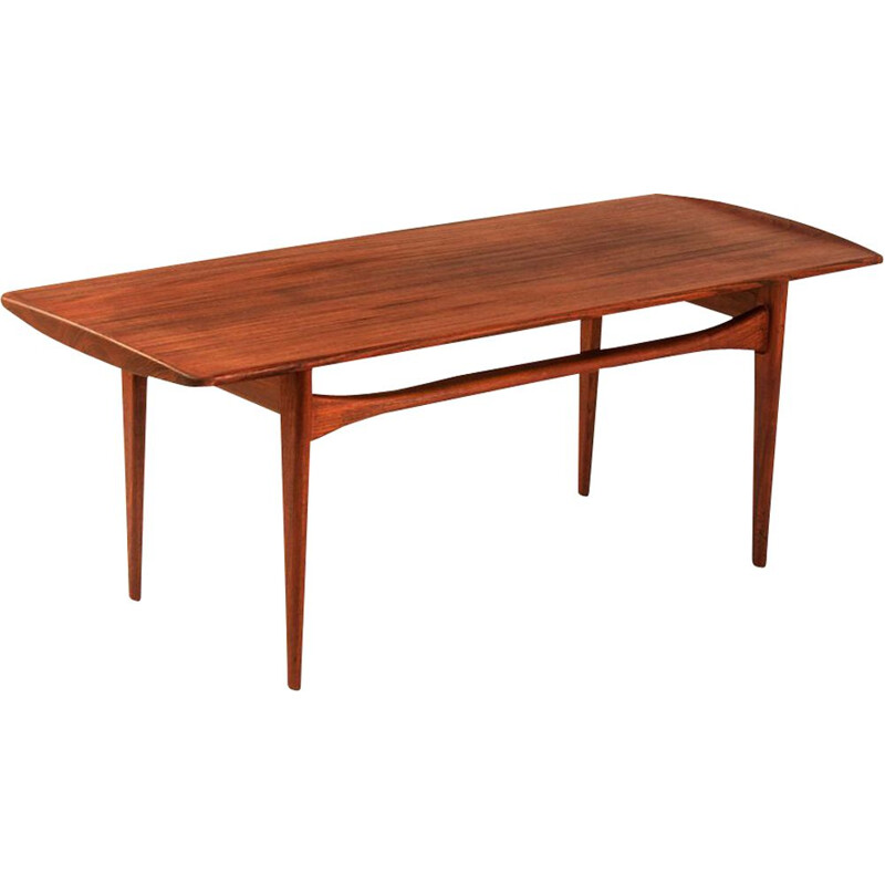 Vintage Coffee Table by Tove Edvard Kindt-Larsen 1960s