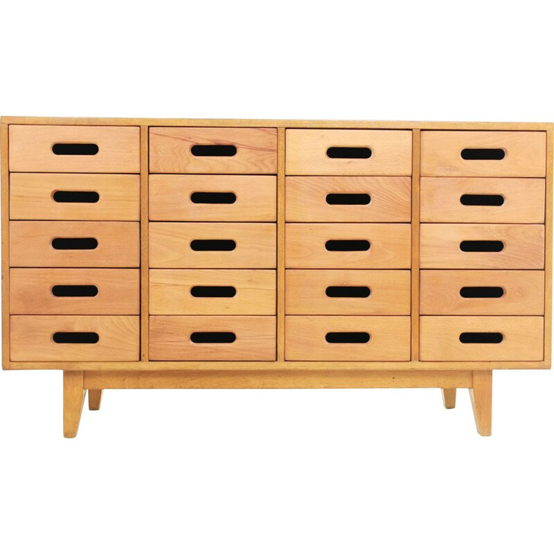 Mid Century Sideboard Chest Of Drawers By James Leonard For Esavian 1950s