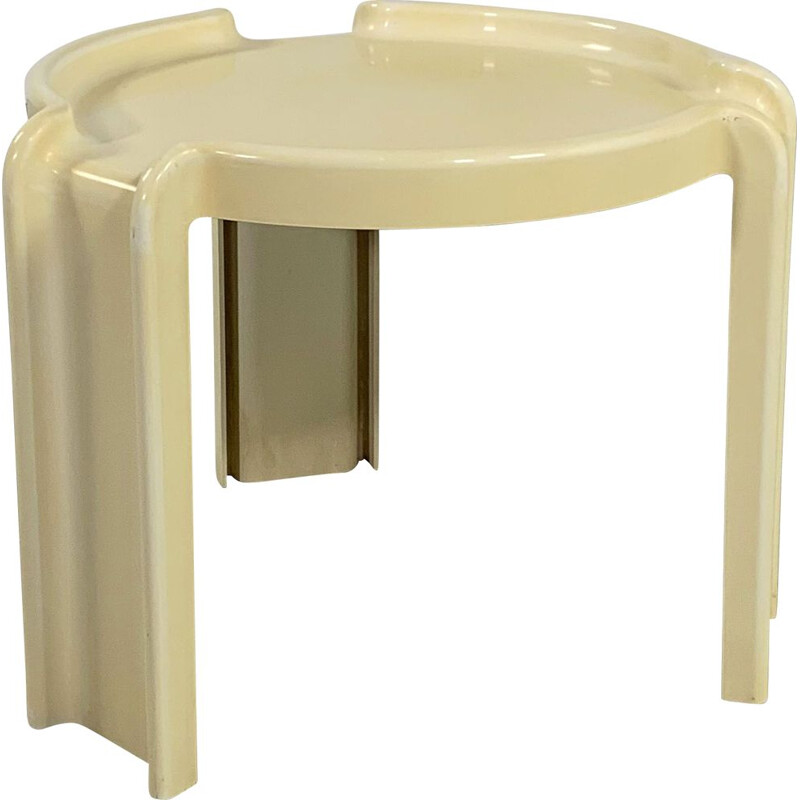 Vintage Side Table by Giotto Stoppino for Kartell 1970s
