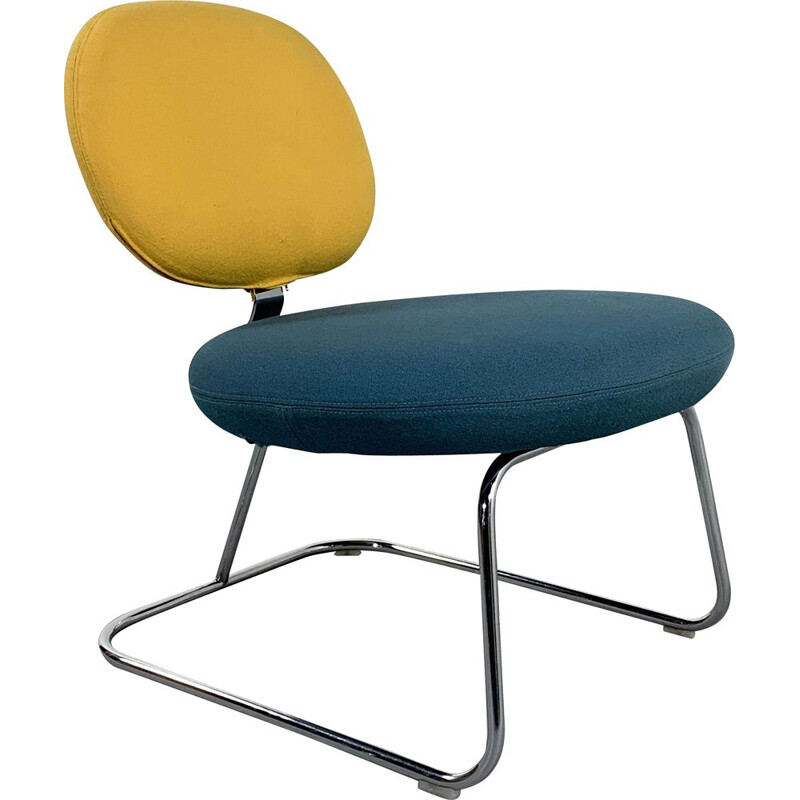 Vintage Two Tone Vega Chair by Jasper Morrison for Artifort 1990s