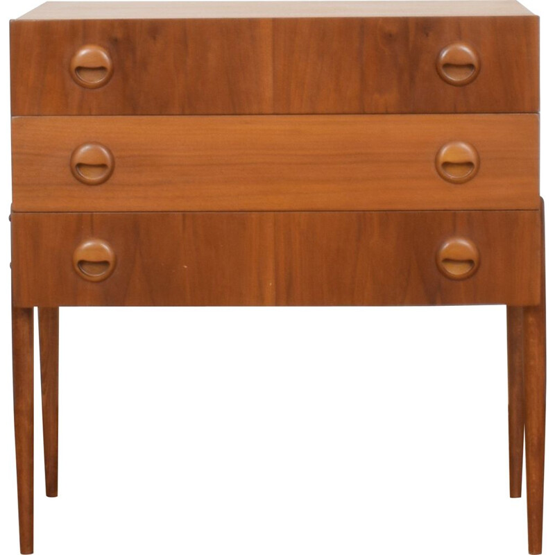 Mid Century Teak Chest Of Drawers From Hans Hawig Möbler 1960s