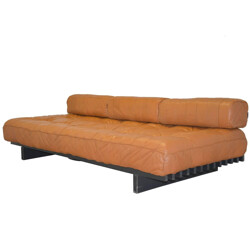 "Vintage De Sede ""DS 80"" daybed in aniline leather - 1960s"