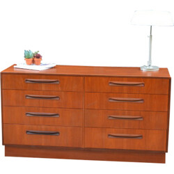 """Large G-Plan """"Fresco"""" chest of drawers, Victor Wilkins - 1960s"""