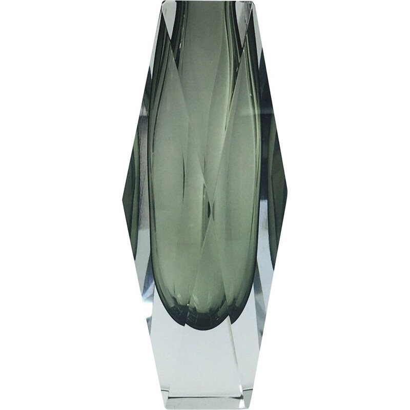 Large Murano Glass Vase from Alessandro Mandruzzato, 1970s