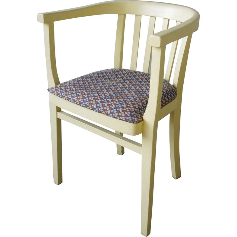 Vintage Yellow chair 1950