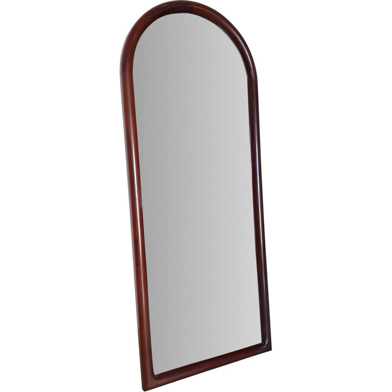 Vintage Cathedral Mirror by Vildbjerg Denmark in Rio Rosewood