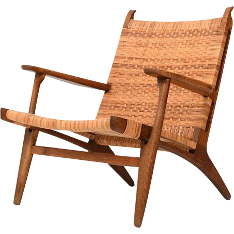 Lounge chair CH-27 by Hans J. Wegner