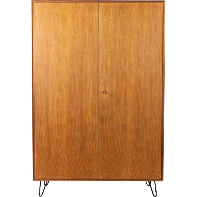 Vintage Wardrobe in walnut 1950s