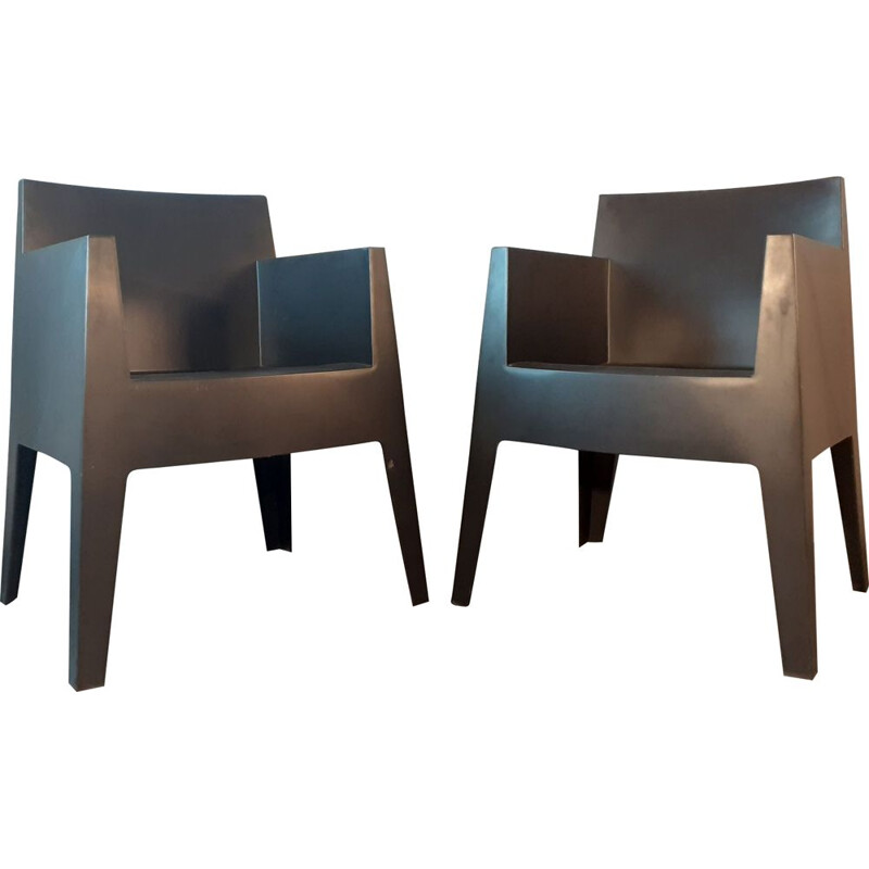 "Pair of vintage ""Toy"" Armchairs, Philippe Starck for Driade"