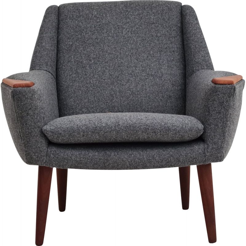 Vintage Completely renovated armchair, Danish 1970s