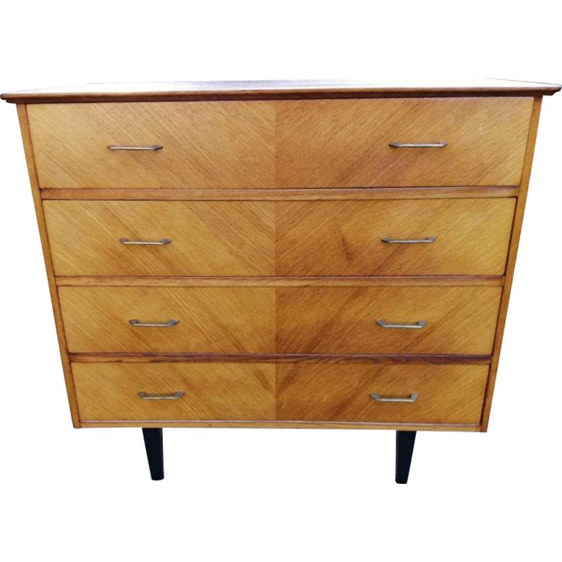Vintage Scandinavian chest of drawers 1960