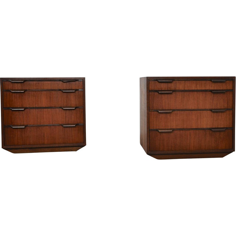 Pair of vintage danish sideboard 1970s
