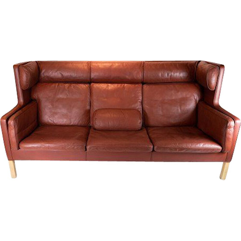 Vintage Kupe 3 seater sofa, model 2193 by Børge Mogensen by Fredericia Furniture 1971