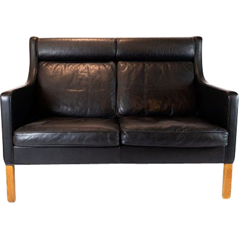 Vintage 2-seater sofa Kupe, model 2192 by Børge Mogensen and Fredericia Furniture 1971
