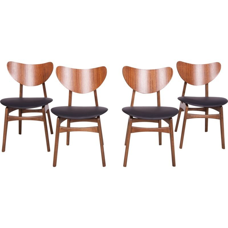 Set of 4 vintage Librenza chairs from G-Plan, United Kingdom 1960