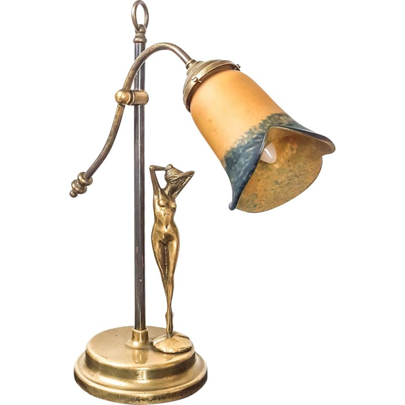 Vintage Art deco lamp signed Guido Mariani 1925