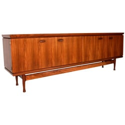 Sideboard in teak, Jacques HAUVILLE - 60
