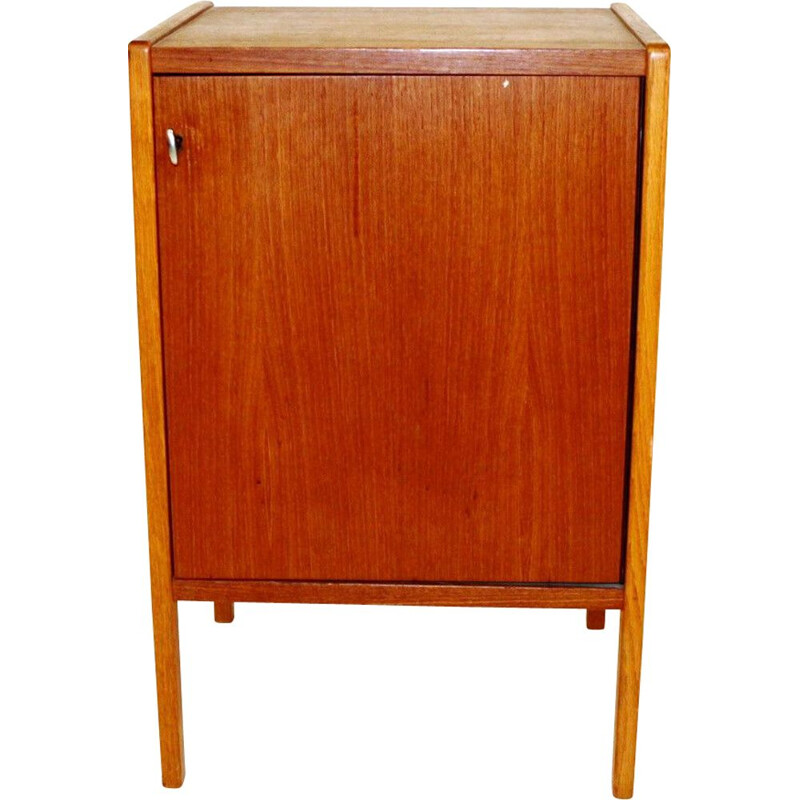 Vintage teak and oak cabinet, Bertil Fridhagen for Bodafors, Sweden 1960