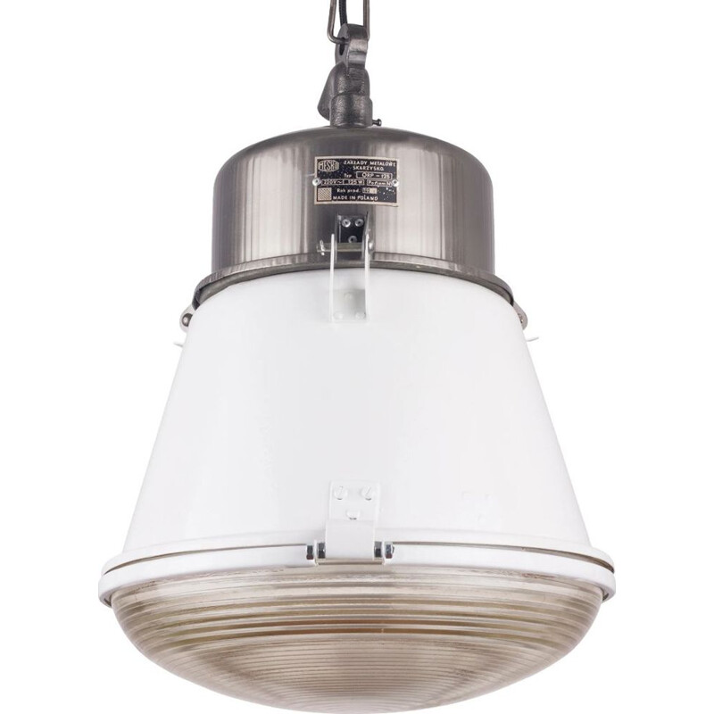 Vintage Industrial Pendant Lamp from Mesko Polish 1970