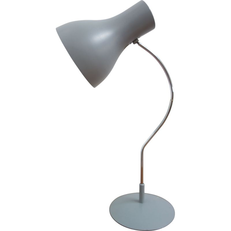 Vintage Grey table lamp by J. Hurka 1960s