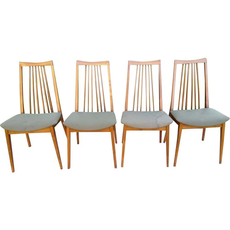 Set of 4 vintage chairs Scandinavian