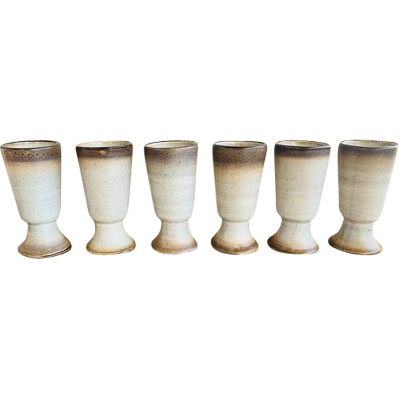 Set of 6 Vintage Mazagran Cups 1960s