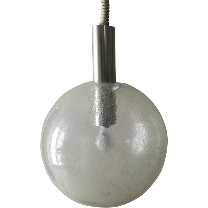 Vintage pendant lamp Sfera by Tobia Scarpa for Flos 1960