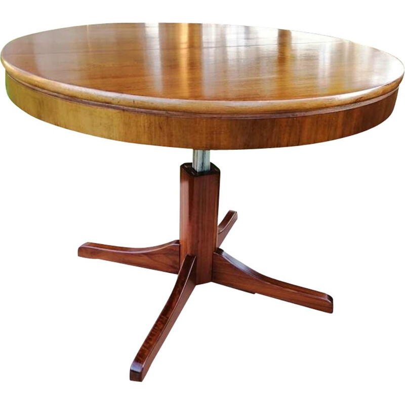 Vintage table with extensible top