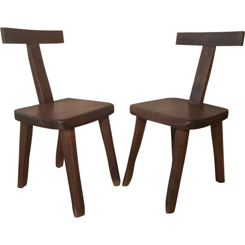 Pair of vintage chairs by Olavi Hanninen 1920s